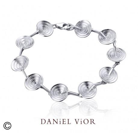 Bracelet CONVOLVUL (Ag.925) 20 cms